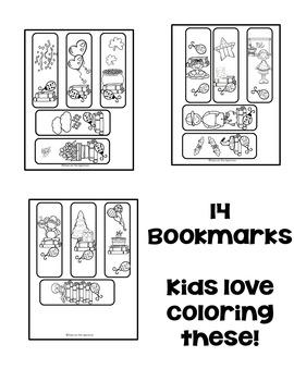 Reading * Reading Logs, Bookmarks, Book Reports * Ladybug Theme