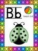 Ladybug Themed Alphabet Posters