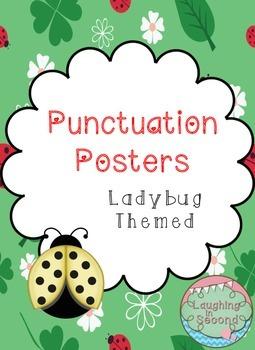 Ladybug Themed - Punctuation Posters