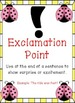 Ladybug Themed - Punctuation Posters