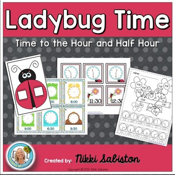 Ladybug Time to the Hour and Half Hour