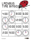 Ladybug Time Bingo - HOUR Version