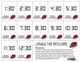 Ladybug Time Memory Match Card Game - HALF HOUR