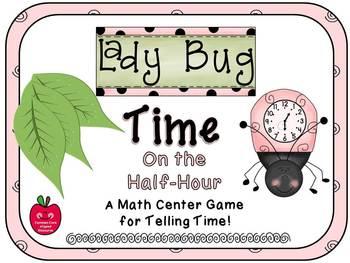 Ladybug Time On the Half-Hour Match Game