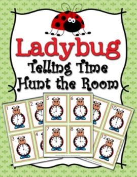 Ladybug Time to the Hour Hunt the Room