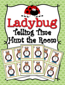 Ladybug Time to the Hour Hunt the Room