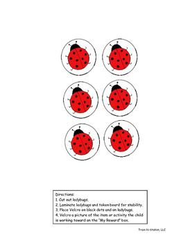 Ladybug Token Board (6)