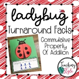 Ladybug Turnaround Fact Math Craftivity