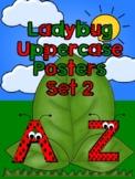 Ladybug Uppercase Posters Set 2