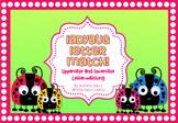 Ladybug Uppercase and Lowercase Letter Match