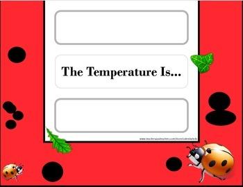 Ladybug Weather Chart! Ladybug Bulletin Board! Ladybug Theme! Insect Theme!