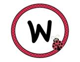 Ladybug Welcome Classroom Sign