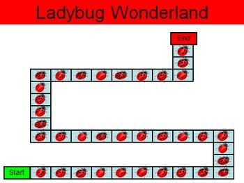 Ladybug Wonderland - A Game of Making 10