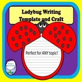 Ladybug Craft Writing Template