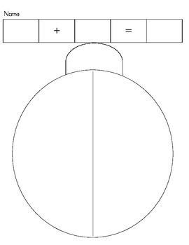 Ladybug assessment:  Adding single digits that equal ten.