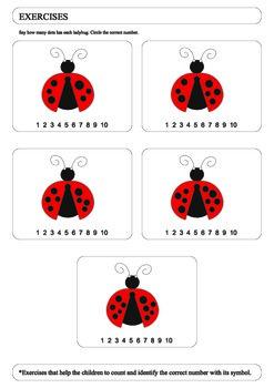 Ladybug exercises