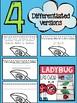 Ladybug life cycle flip book