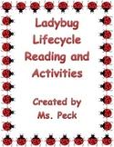Ladybug lifecycle reading