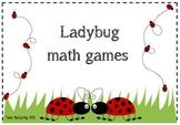 Ladybug maths games