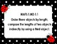 Ladybug themed MAFS common board signs