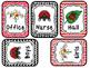 Ladybug themed Printable Hall Pass Sign and Hall Passes. C
