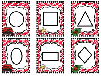 Ladybug themed Printable Weekly Focus Bulletin Board Set.