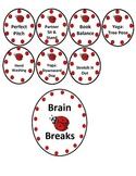 Ladybug themed brain breaks