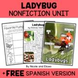Nonfiction Unit - Ladybug Activities