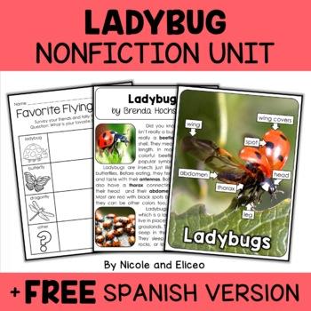Nonfiction Ladybug Unit Activities