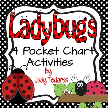 Ladybugs (4 Pocket Chart Activities)