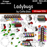 Ladybugs Clip Art
