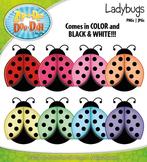 Ladybugs Clipart {Zip-A-Dee-Doo-Dah Designs}