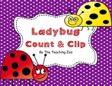 Ladybugs Count & Clip 1-20