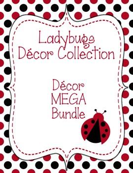 Ladybugs Decor: Decor MEGA Bundle