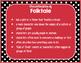 Ladybugs Decor: Genre Posters & Book Bin Labels