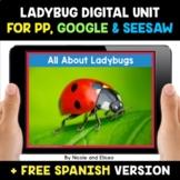 Ladybug Life Cycle Digital Activities for Google and Seesa