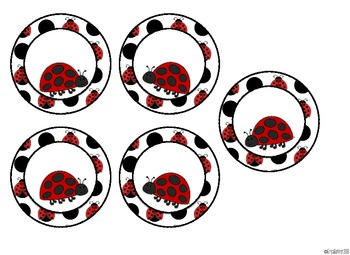 Door Decor: Ladybugs: