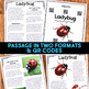 Ladybugs: Informational Article, QR Code Research & Fact Sort
