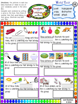 """Ladybugs - Informational Text Comprehension using """"Ladybugs"""" by Gail Gibbons"""