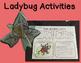 Ladybugs: Life Cycle and Anatomy minibook  plus activities