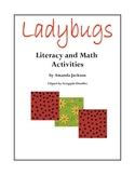 Ladybugs Literacy and Math Activities
