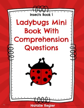 Ladybugs Mini Book and Comprehension Activities