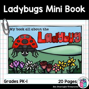 Ladybugs Mini Book for Early Readers