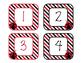 Ladybugs Decor: Number Labels