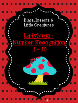 Ladybugs - Number Recognition 1 - 10