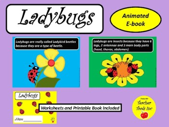 Ladybugs PowerPoint Ebook