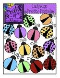 Ladybugs Pretty Pastels {Creative Clips Digital Clipart}