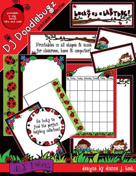 Ladybug Theme Classroom Printables Download