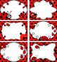 Ladybugs! Six Small Labels for Word Walls and More.