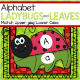 Ladybugs Alphabet Matching Upper and Lower Case